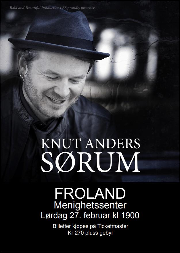 Konsert med Knut Anders Sørum 1